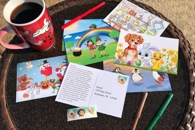 Fairy Tale Snail Mail (Postcards for Kids) Photo 2