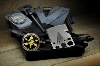Green Beret Tactical - Survival Box Photo 1
