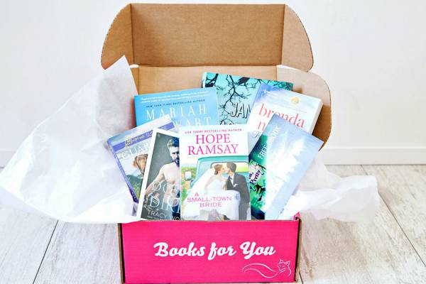 Fresh Fiction Box shown open to feature all contents