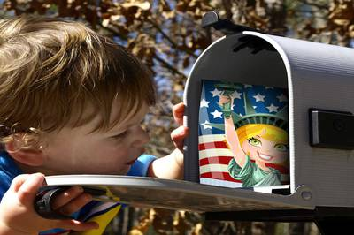 Fairy Tale Snail Mail (Postcards for Kids) Photo 3