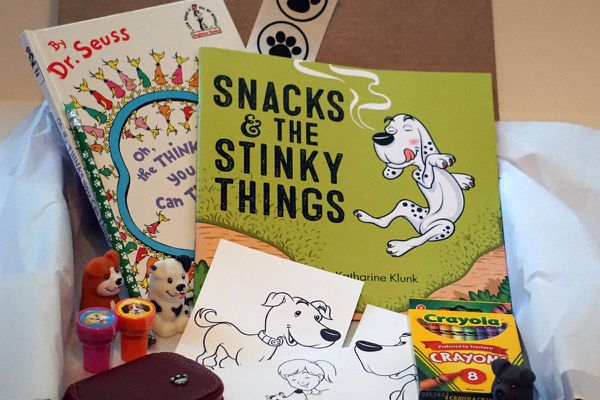 Inspired by savannah easter gift ideas snacks stinky book box both of my girls love dogs just like i do especially my 7 year old daughter savannah who cant leave the house without negle Choice Image