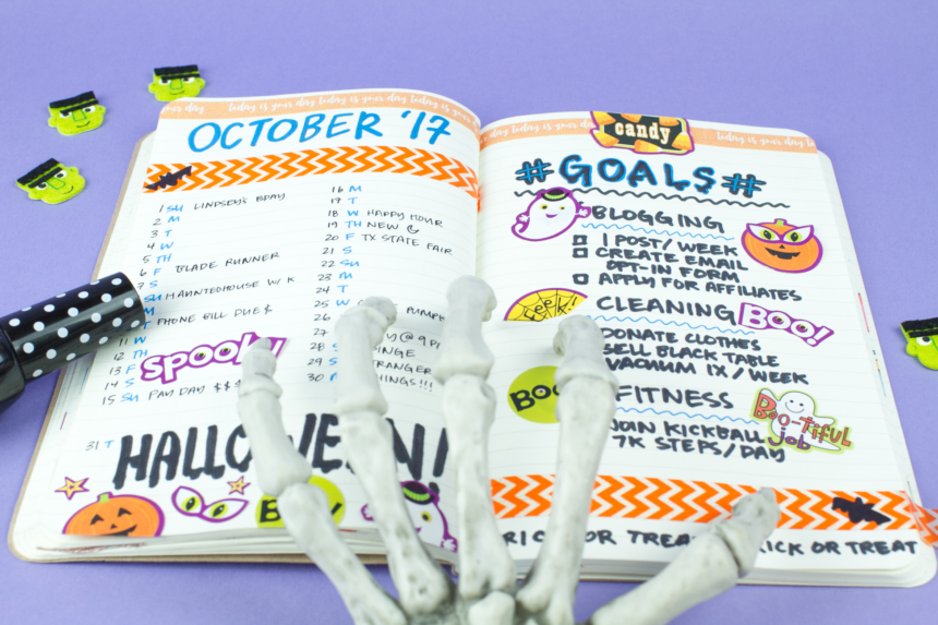 Photo for Box Insider article October Bullet Journal Spread (Halloween Edition)