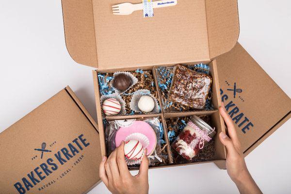 Bakers Krate Dessert Subscription Box Cratejoy