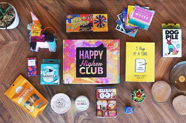 Photo for Box Insider article Boost Your Mood with Happy Higher Club