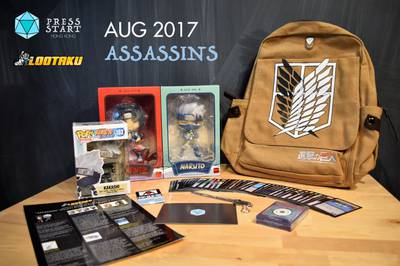 Lootaku Monthly Subscription Box Photo 2