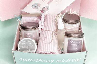 Candle + Spa Box by Wicked Flame Photo 2