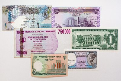 World paper money from Venture in History Photo 1