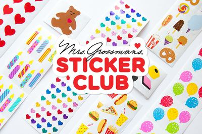 Mrs. Grossman's Sticker Club Photo 1